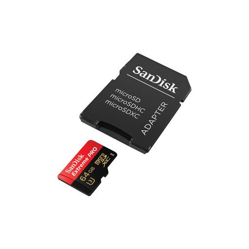 SanDisk  microSDHC™ Mobile Extreme PRO™ 64GB + adapter, UHS-1, V30, A1