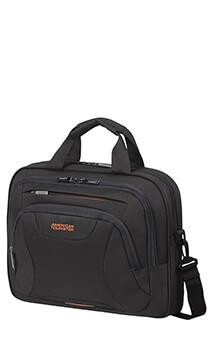 "American Tourister AT WORK Laptop Bag 13.3""-14.1"" fekete/narancs"