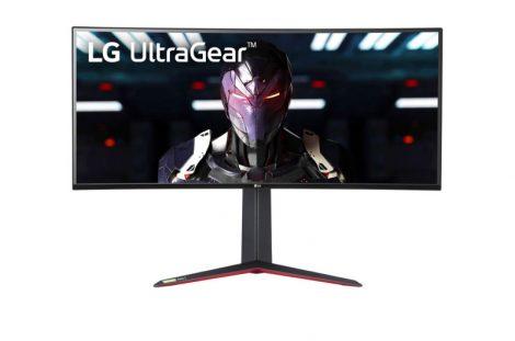 LG 34GN850-B ívelt UltraGear™ Gaming Monitor with G-Sync®