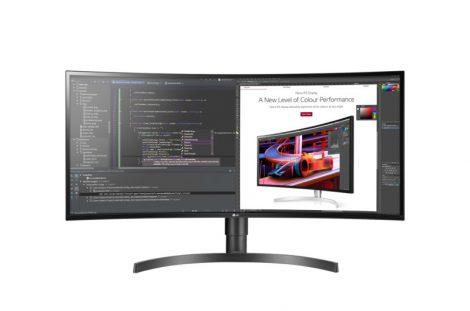 "LG 34WL85C-B 34"" méretű ívelt UltraWide™ QHD IPS Monitor"