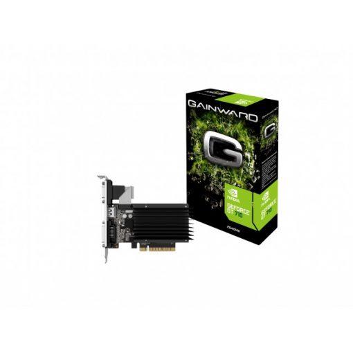 Gainward GeForce GT 710 2GB SilentFX ITX DDR3 videokártya