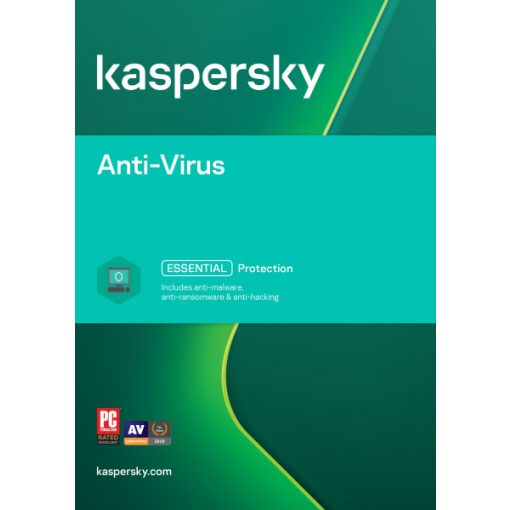 Kaspersky Antivirus 2021 1-Dev Doboz