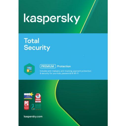 Kaspersky Total Security 2021 3-Dev Doboz