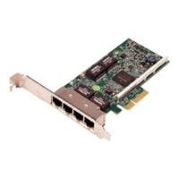 Dell Broadcom 5719 Quad Port Gigabit Ethernet NIC PCIe Full Height