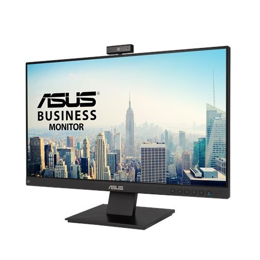 ASUS BE24EQK Business Monitor – 23.8 inch, Full HD, IPS, webcam, Fekete, Monitor