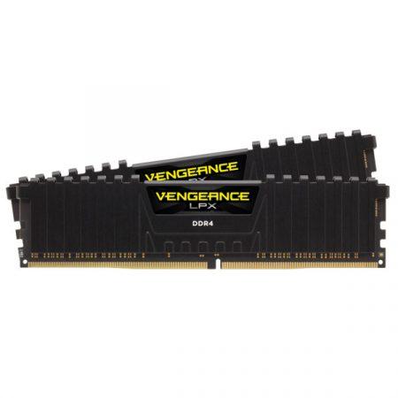 Corsair Vengeance LPX  Fekete DDR4, 3200MHz 16GB (2 x 8GB) memória