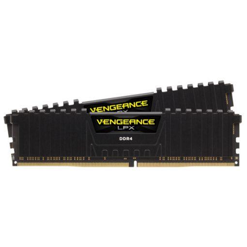 Corsair Vengeance LPX  Fekete DDR4, 3600MHz 16GB (2 x 8GB) memória