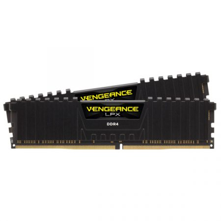 Corsair Vengeance LPX  Fekete DDR4, 3000MHz 64GB (2 x 32GB) memória