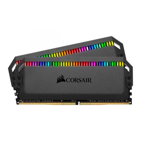 Corsair DOMINATOR PLATINUM RGB Fekete DDR4, 3600MHz 32GB (2 x 16GB) memória