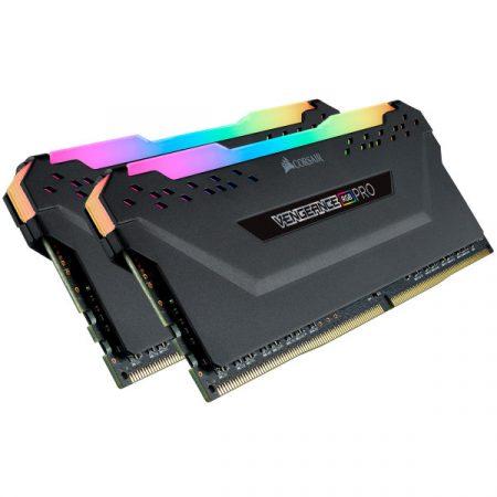 Corsair Vengeance RGB Pro Fekete DDR4, 2666MHz 16GB (2 x 8GB) memória