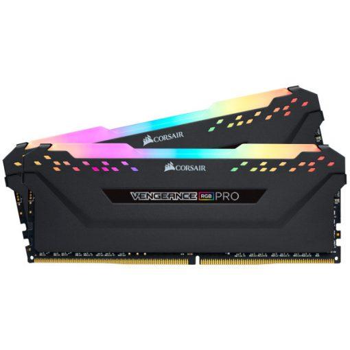 Corsair Vengeance RGB Pro Fekete DDR4, 3600MHz 16GB (2 x 8GB) memória