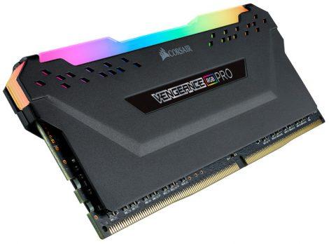 Corsair Vengeance RGB Pro Fekete DDR4, 3200MHz 8GB (1x8GB) memória