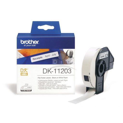 Brother DK-11203 etikett