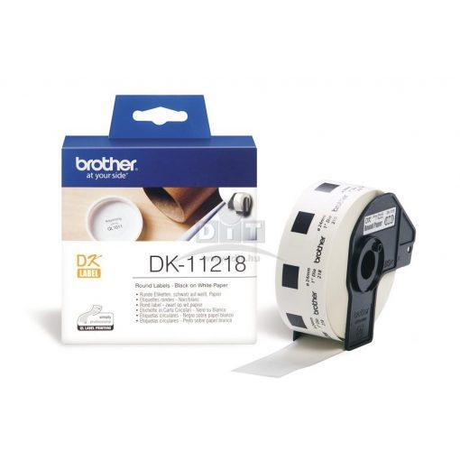 Brother DK-11218 etikett