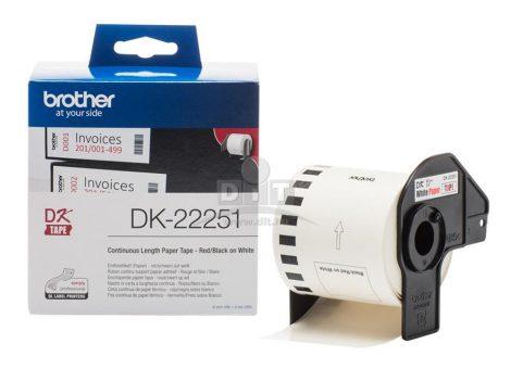 Brother DK-22251 papírszalag