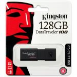 Kingston 128GB USB3.0 Fekete (DT100G3/128GB) Flash Drive