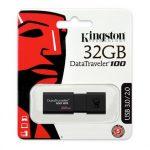 Kingston 32GB USB3.0 Fekete (DT100G3/32GB) Flash Drive