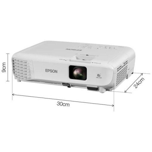 Epson EB-E01 asztali hordozható többcélú projektor, XGA