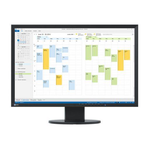 "EIZO 24"" EV2416WFS3-BK EcoView Slim monitor"