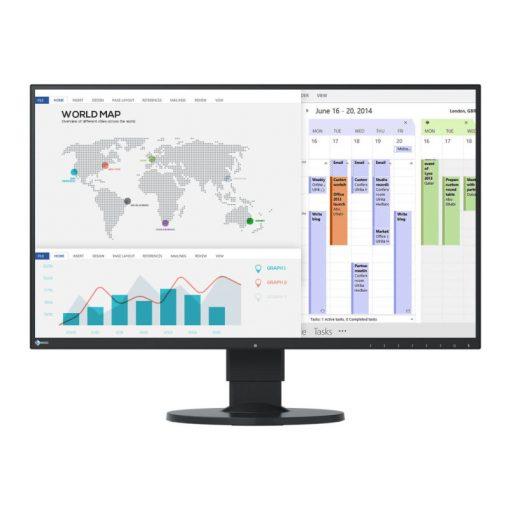 "EIZO 27"" EV2750-BK EcoView Ultra-Slim monitor"