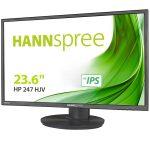 """HANNSPREE HP247HJV 23.6"""" 178°/178° Full HD 1920 x 1080 16:9 Height adj. HDMI DVI"""