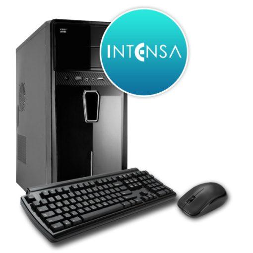 INTENSA PC - HPC-I3S-SSDV8 (I3 10100/8GB DDR4/240GB/NO DVD/iVGA/400W/BILL+EGÉR)