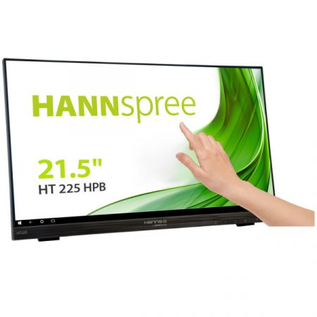 "HANNSPREE HT225HPB 21.5"" P-CAP 10 Point Touch Display 178°/178° 1920 x 1080 16:9"