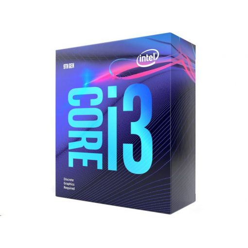 Intel Core i3-9100F 3.6GHz Socket 1151 dobozos processzor