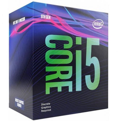 Intel Core i5 2,9GHz LGA1151 9MB (i5-9400F) box processzor