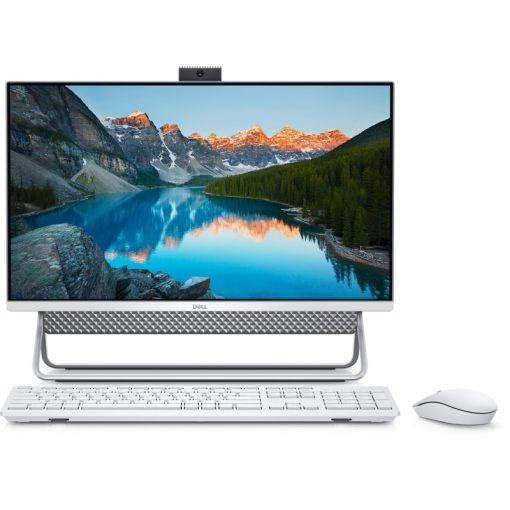 "Dell Inspiron 5400AIO Silver sz.gép 23.8"" W10H Ci5 1135G7 8GB 256GB+1TB MX330"
