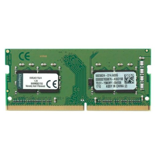 Kingston 4GB/2400MHz DDR-4 (KVR24S17S6/4) notebook memória