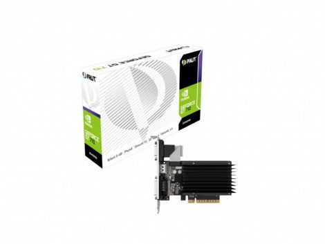 Palit GeForce GT 710 Passive 2GB 64bit DDR3 videokártya