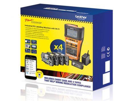 Brother PT-E550WSP feliratozógép