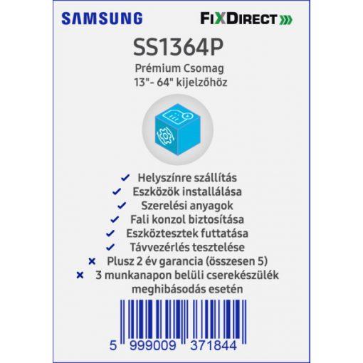 "Samsung 13""- 64"" Telepítési prémiumcsomag"