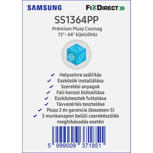 """Samsung 13""""- 64"""" Telepítési Prémium Plusz csomag"""