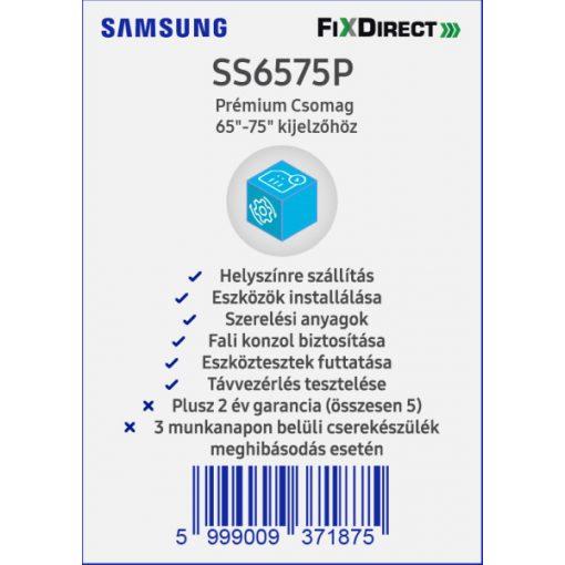 "Samsung 65-75"" Telepítési Prémiumcsomag"