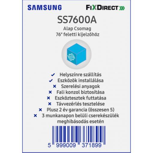 "Samsung 76""-tól Telepítési Alapcsomag"
