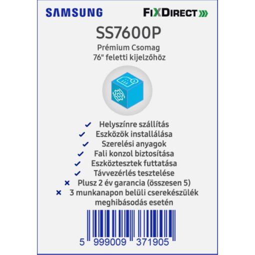 """Samsung 76"""" -tól Telepítési PrémiumCsomag"""