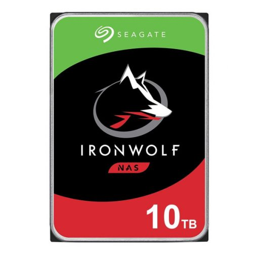 "Seagate IronWolf  HDD, 3.5"" 10TB, SATA3, 7200rpm 256MB, NAS"
