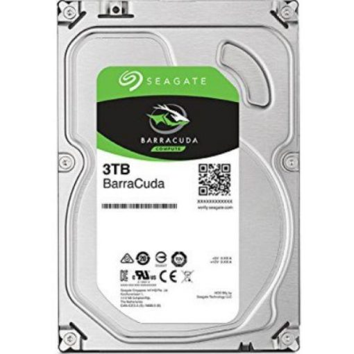 "Seagate BarraCuda HDD, 3.5"" 3TB, SATA3, 5400rpm 256MB"