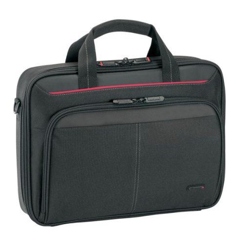 """Targus Classic S fekete gyöngyvászon notebook táska - 13.3"""""""