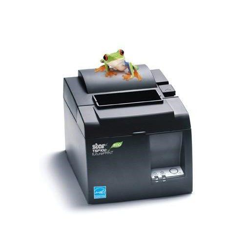 Star TSP100-II ECO nyomtató, vágó, USB, fekete, 4 év garancia!!!