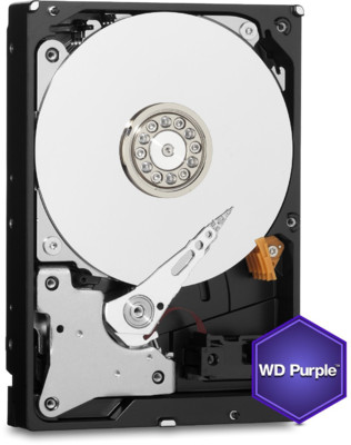 "Western Digital 3,5"" Purple 1TB, SATA3, 64MB, 5400RPM winchester WD10PURZ"