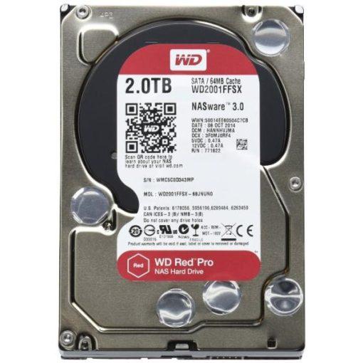 """Western Digital HDD 3,5"""" Red Pro 2TB HDD, SATA3, 7200rpm, 128MB"""