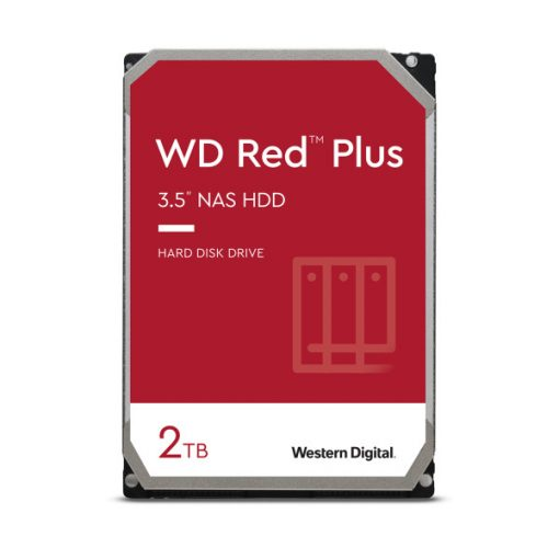 """Western Digital 3,5"""" Red PLUS 2TB, SATA3, 64MB winchester WD20EFRX"""