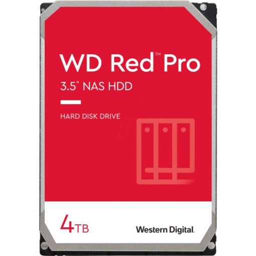 """Western Digital HDD 3,5"""" Red Pro 4TB HDD, SATA3, 7200rpm, 128MB"""