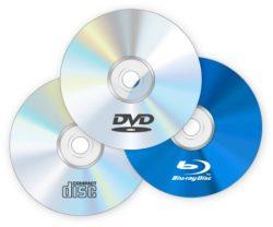 CD / DVD lemez